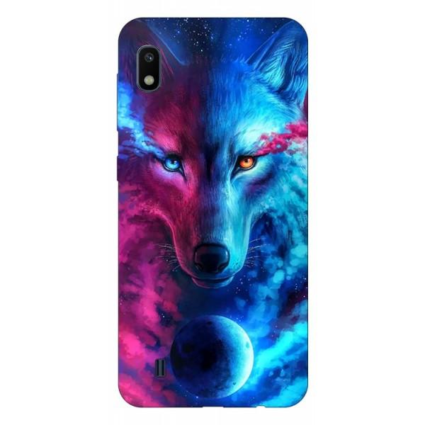 Husa Silicon Soft Upzz Print Compatibila Cu Samsung Galaxy A10 Model Wolf imagine itelmobile.ro 2021