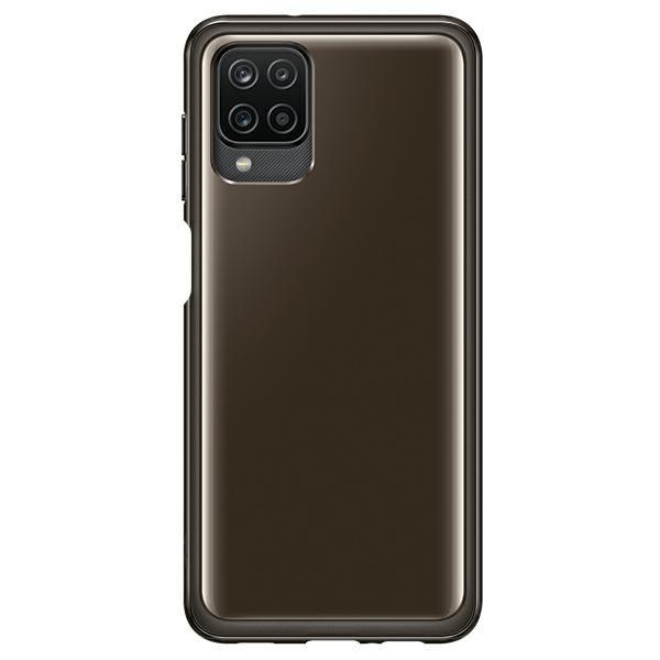 Husa Premium Originala Samsung Compatibila Cu Samsung Galaxy A12, Negru - Ef-qa125tbegeu imagine itelmobile.ro 2021