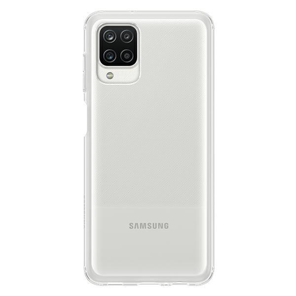 Husa Premium Originala Samsung Compatibila Cu Samsung Galaxy A12, Transparenta - Ef-qa125ttegeu imagine itelmobile.ro 2021