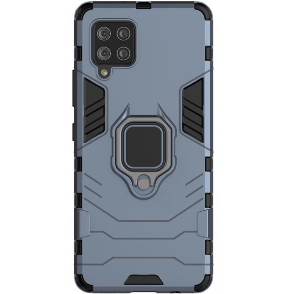 Husa Spate Ring Armor Upzz Compatibila Cu Samsung Galaxy A42 5g, Albastru imagine itelmobile.ro 2021