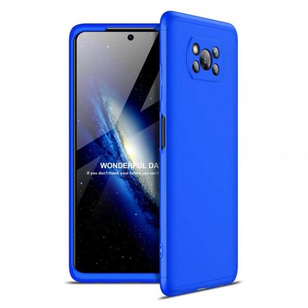 Husa 360 Grade Upzz Protection Pentru Xiaomi Poco X3 Nfc Albastru imagine itelmobile.ro 2021