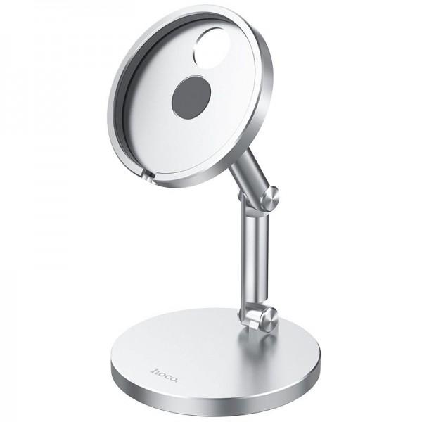 Suport Hoco Pentru Incarcator Magsade, Aluminiu Silver imagine itelmobile.ro 2021