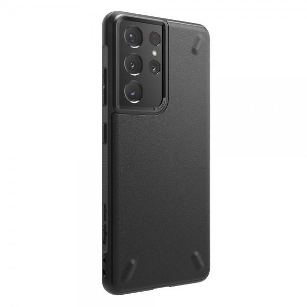 Husa Premium Ringke Onyx Pentru Samsung Galaxy S21 Ultra, Negru imagine itelmobile.ro 2021