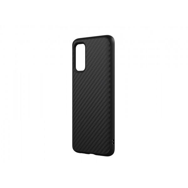 Husa Slim Upzz Carbon Fiber Compatibila Cu Samsung Galaxy S20+ Plus, Silicon, Model Carbon Fiber imagine itelmobile.ro 2021