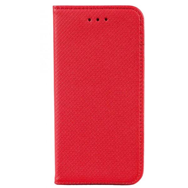 Husa Flip Carte Upzz Smart Compatibila Cu Samsung Galaxy A32 5g, Rosu imagine itelmobile.ro 2021