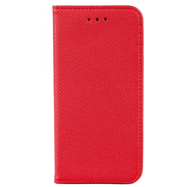 Husa Flip Carte Upzz Smart Compatibila Cu Samsung Galaxy A12, Rosu imagine itelmobile.ro 2021