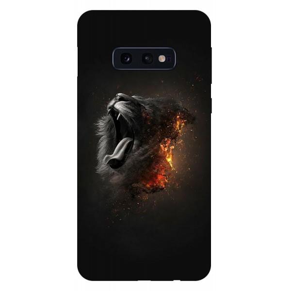 Husa Silicon Soft Upzz Print Compatibila Cu Samsung Galaxy S10e Model Lion imagine itelmobile.ro 2021