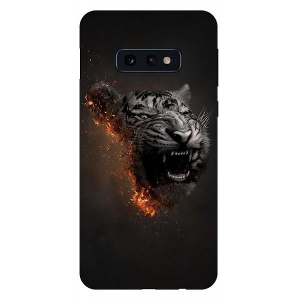 Husa Silicon Soft Upzz Print Compatibila Cu Samsung Galaxy S10e Model Tiger imagine itelmobile.ro 2021