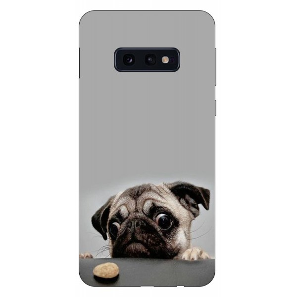 Husa Silicon Soft Upzz Print Compatibila Cu Samsung Galaxy S10e Model Dog imagine itelmobile.ro 2021