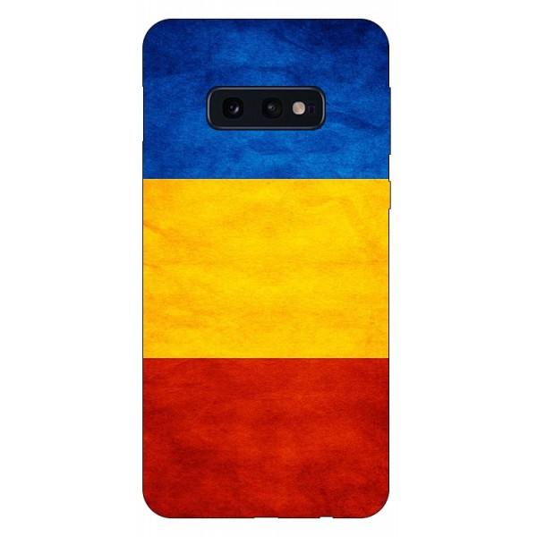 Husa Silicon Soft Upzz Print Compatibila Cu Samsung Galaxy S10e Model Tricolor imagine itelmobile.ro 2021