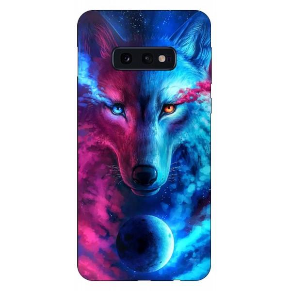Husa Silicon Soft Upzz Print Compatibila Cu Samsung Galaxy S10e Model Wolf imagine itelmobile.ro 2021