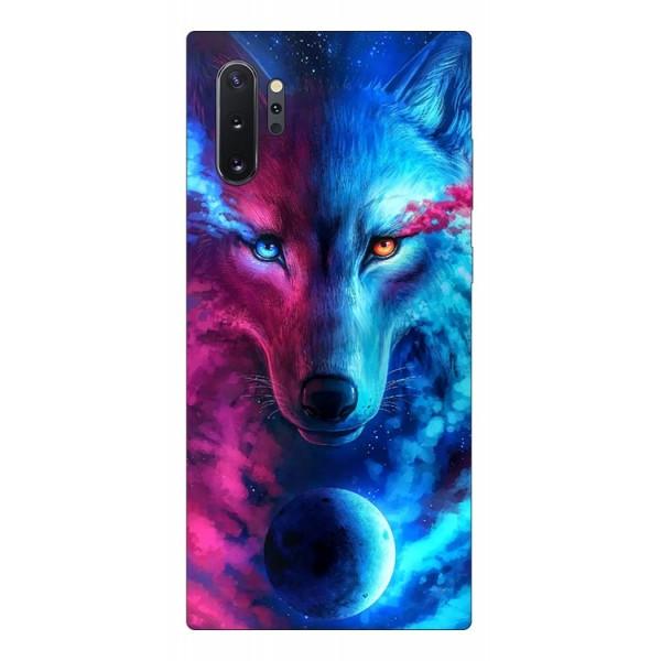 Husa Silicon Soft Upzz Print Compatibila Cu Samsung Galaxy Note 10+ Plus Model Wolf imagine itelmobile.ro 2021
