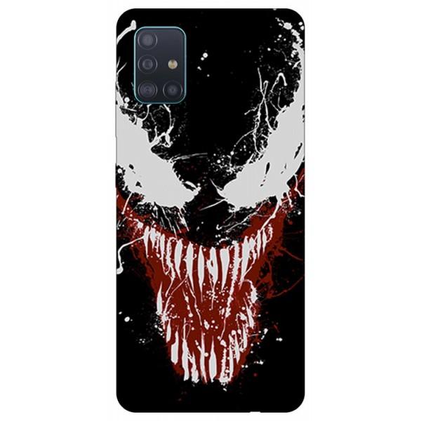 Husa Silicon Soft Upzz Print Compatibila Cu Samsung Galaxy A71 5g Model Monster imagine itelmobile.ro 2021