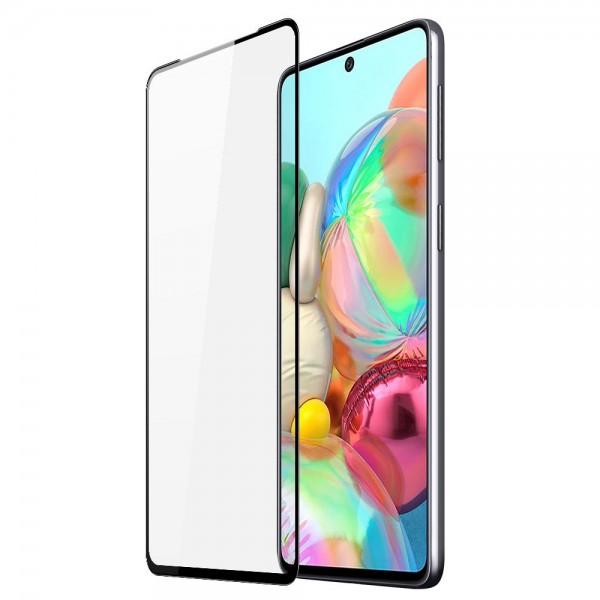 Folie Sticla Securizata Duxducis Compatibila Cu Samsung Galaxy A71, Full Glue - Case Friendly imagine itelmobile.ro 2021