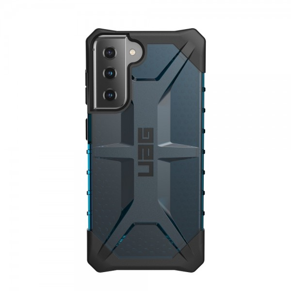 Husa Premium Urban Armor Gear Plasma Pentru Samsung Galaxy S21, Albastru Transparent imagine itelmobile.ro 2021