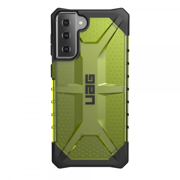 Husa Premium Urban Armor Gear Plasma Pentru Samsung Galaxy S21 Plus, Verde Transparent imagine itelmobile.ro 2021