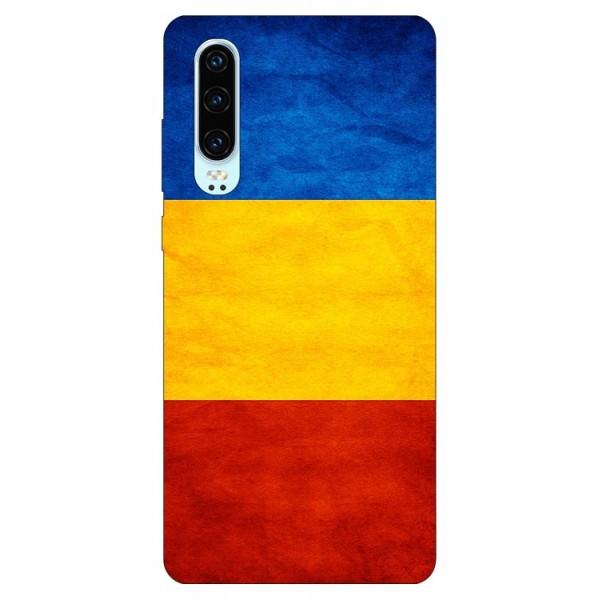 Husa Silicon Soft Upzz Print Compatibila Cu Huawei P30 Model Tricolor imagine itelmobile.ro 2021