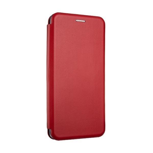 Husa Flip Carte Cu Magnet Lux Upzz Compatibila Cu Samsung Galaxy A02s, Piele Ecologica, Rosu imagine itelmobile.ro 2021