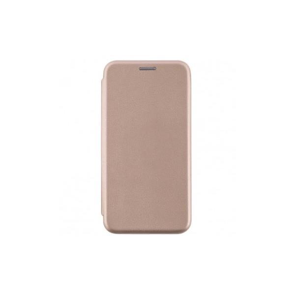 Husa Flip Carte Cu Magnet Lux Upzz Compatibila Cu Samsung Galaxy A02s, Piele Ecologica, Gold imagine itelmobile.ro 2021