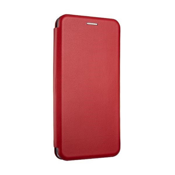 Husa Flip Carte Cu Magnet Lux Upzz Compatibila Cu Samsung Galaxy A12, Rosu imagine itelmobile.ro 2021