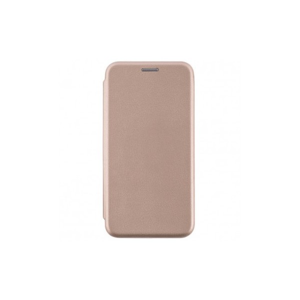 Husa Flip Carte Cu Magnet Lux Upzz Compatibila Cu Samsung Galaxy S21+ Plus, Gold imagine itelmobile.ro 2021