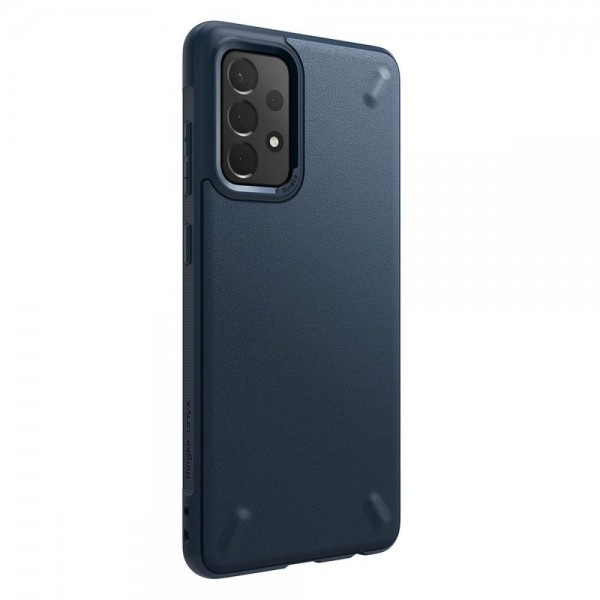 Husa Premium Ringke Onyx Pentru Samsung Galaxy A72 4G, Navy Albastru imagine itelmobile.ro 2021