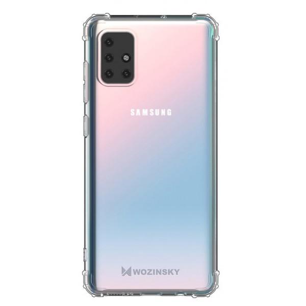 Husa Wozinsky Anti Shock Pentru Samsung Galaxy M51, Tehnologie Air Cusion, Transparenta imagine itelmobile.ro 2021