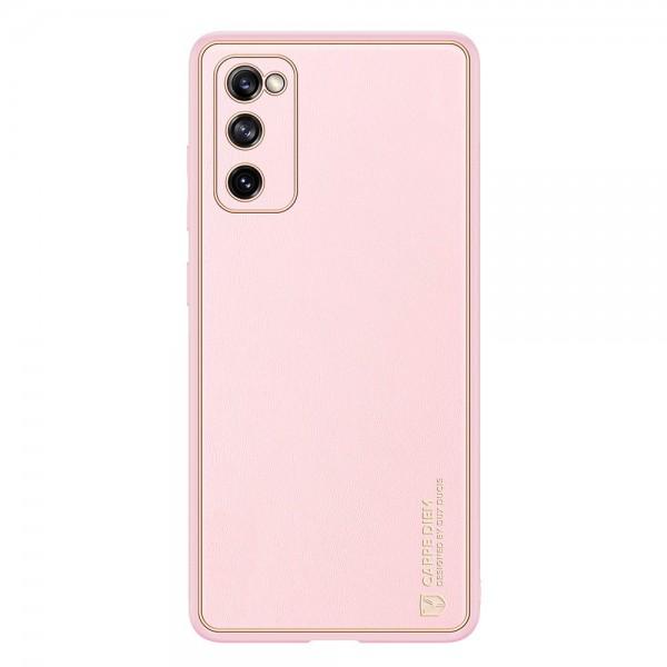 Husa Premium Duxducis Yolo Pentru Samsung Galaxy S20 Fe, Roz imagine itelmobile.ro 2021