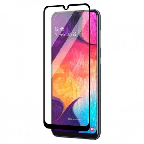Folie Full Cover Upzz Glass Compatibila Cu Samsung Galaxy A12, Adeziv Pe Toata Suprafata, Transparenta Cu Margine Neagra imagine itelmobile.ro 2021
