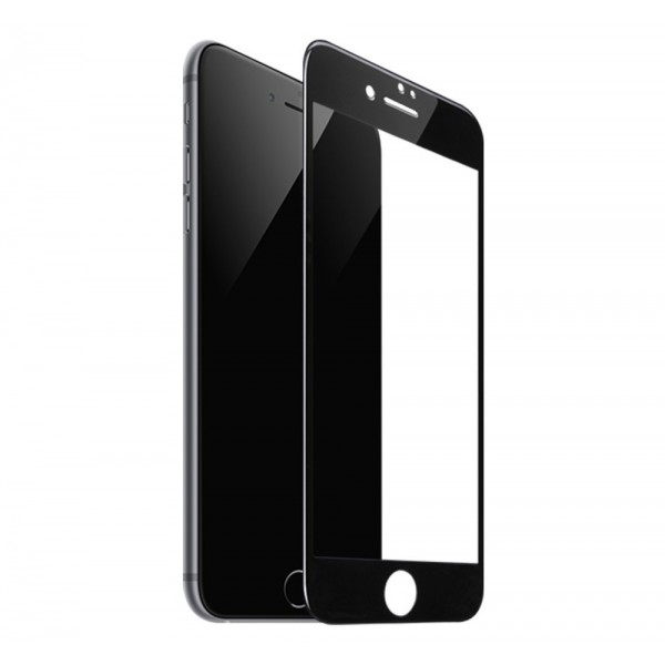Folie Sticla Securizata Premium Full Cover Hoco Compatibila Cu iPhone 7 / 8 / Se 2 ( 2020 ), Transparenta Cu Margine Neagra imagine itelmobile.ro 2021