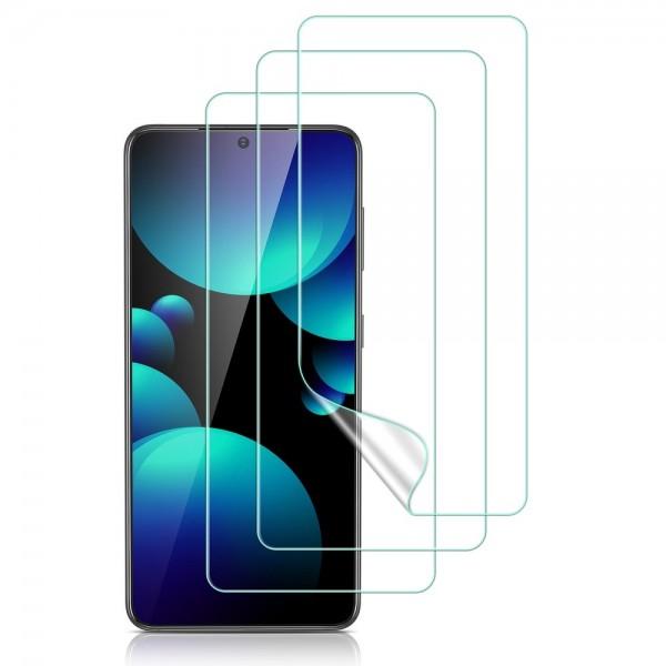 Folie Silicon Premium Esr Liquid Skin Pentru Samsung Galaxy S21+ Plus, 3 Bucati In Pachet, Transparenta imagine itelmobile.ro 2021
