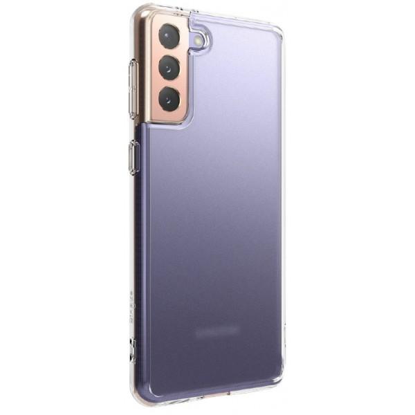 Husa Premium Ringke Fusion Pc Pentru Samsung Galaxy S21,transparenta Matte imagine itelmobile.ro 2021
