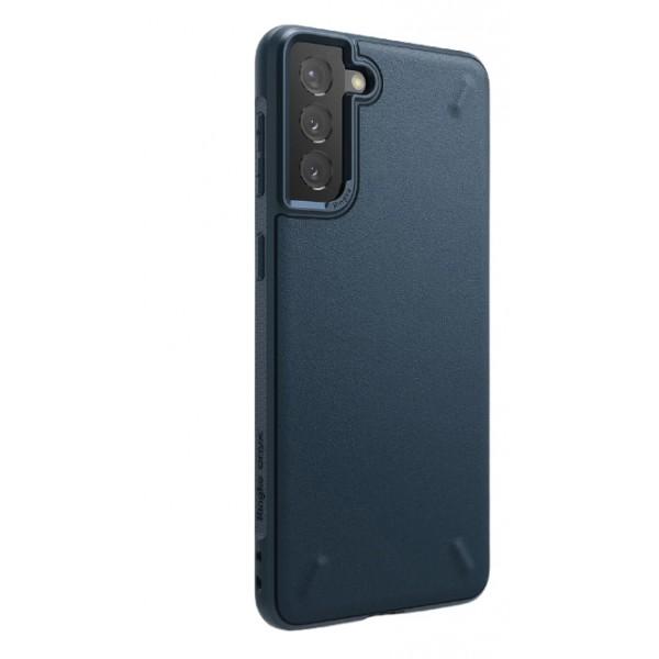 Husa Premium Ringke Onyx Pentru Samsung Galaxy S21, Navy Albastru imagine itelmobile.ro 2021