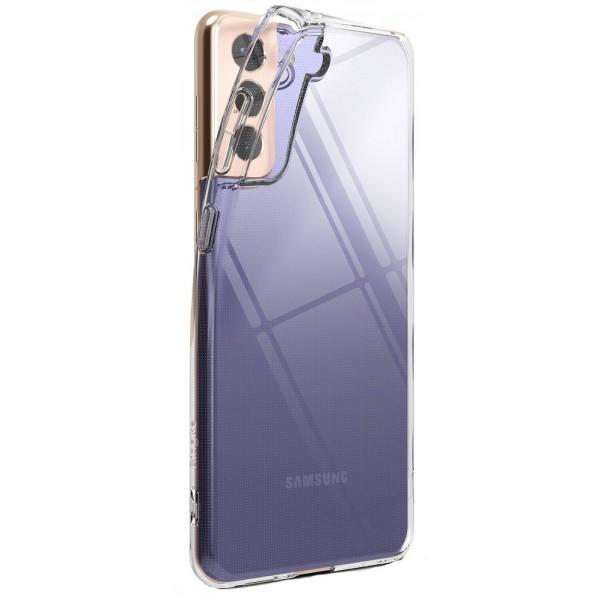 Husa Premium Ringke Air Pentru Samsung Galaxy S21, Silicon, Transparenta imagine itelmobile.ro 2021