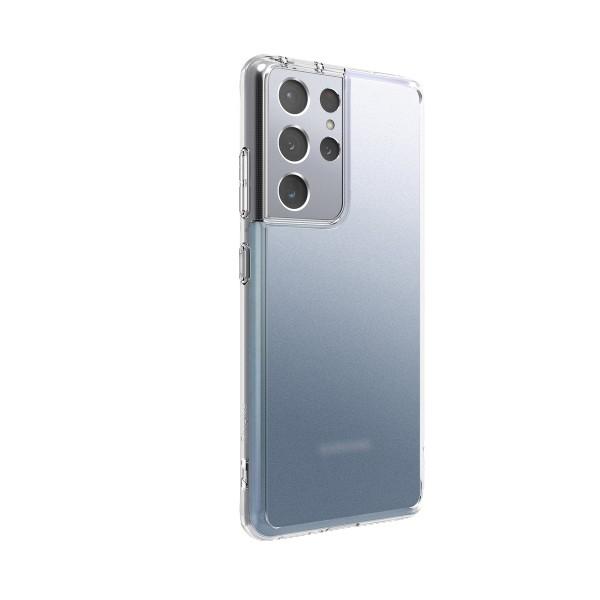 Husa Premium Ringke Fusion Pc Pentru Samsung Galaxy S21 Ultra, Transparenta Matte imagine itelmobile.ro 2021