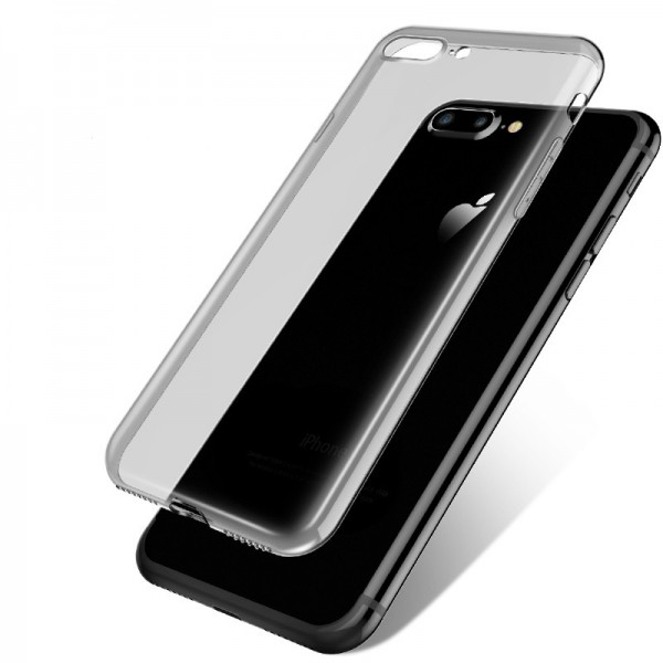 Husa Ultra Slim 0.3mm Upzz iPhone 6 6s Plus Fumurie imagine itelmobile.ro 2021