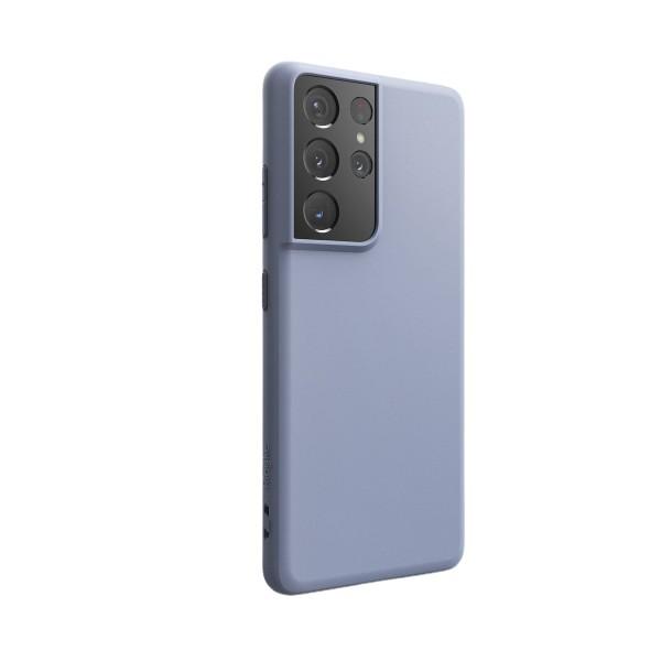 Husa Premium Ringke Air Pentru Samsung Galaxy S21 Ultra, Silicon, Mov imagine itelmobile.ro 2021
