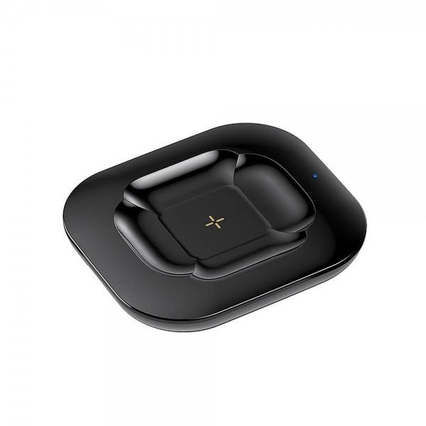 Incarcator Wireless Remax Compatibil Cu Castile Airpods Si Telefoane 10w, Negru imagine itelmobile.ro 2021