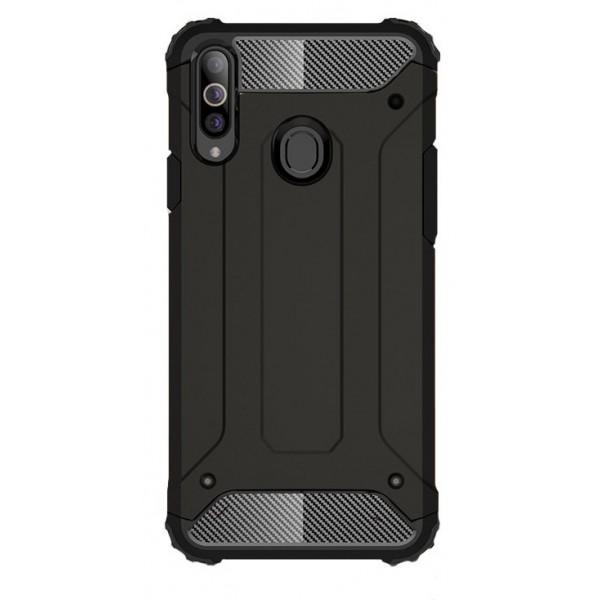 Husa Armor Upzz Compatibila Cu Samsung Galaxy A20s, Anti-shock Negru imagine itelmobile.ro 2021