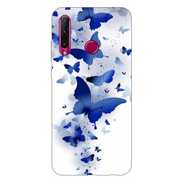 Husa Silicon Soft Upzz Print Compatibila Cu Huawei Y6p Model Blue Butterflies imagine itelmobile.ro 2021