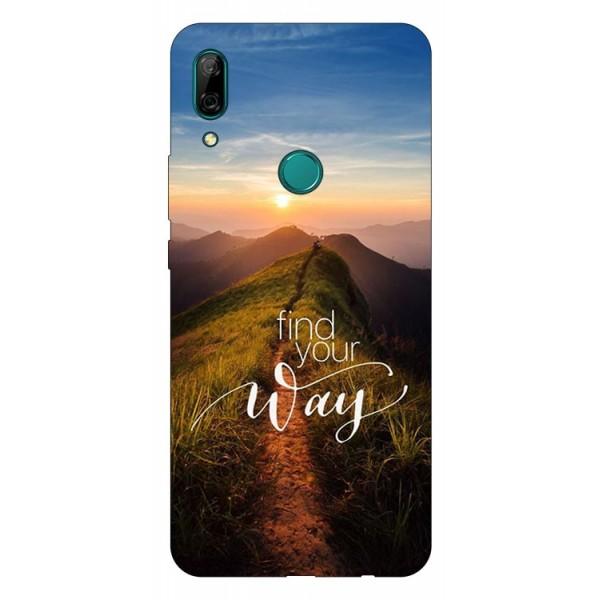 Husa Silicon Soft Upzz Print Compatibila Cu Huawei P Smart Z Model Way imagine itelmobile.ro 2021