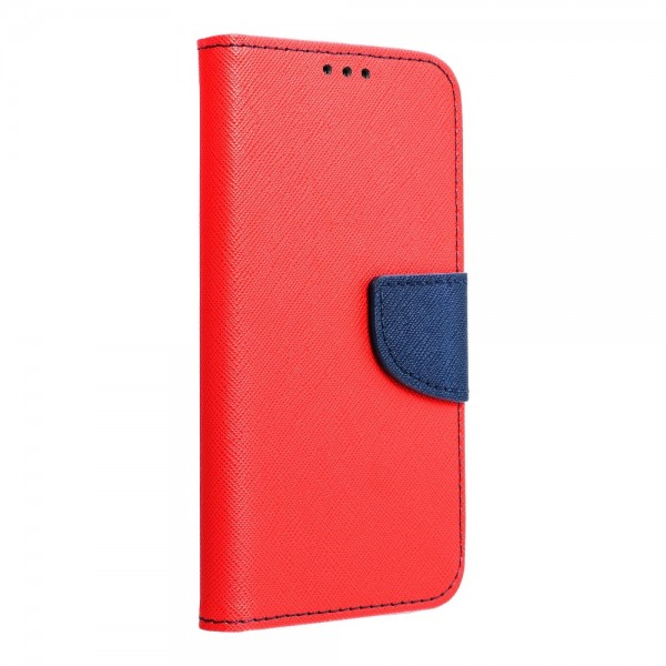 Husa Flip Carte Upzz Fancy Book Compatibila Cu Samsung Galaxy A41, Navy Rosu imagine itelmobile.ro 2021