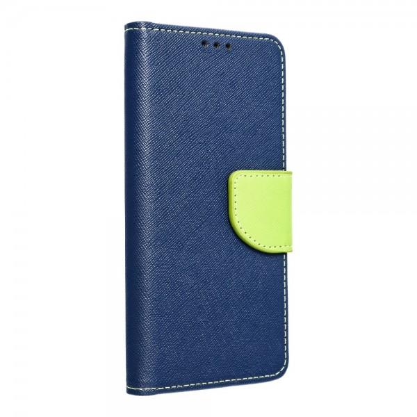 Husa Flip Carte Upzz Fancy Book Compatibila Cu Samsung A71, Navy Lime imagine itelmobile.ro 2021