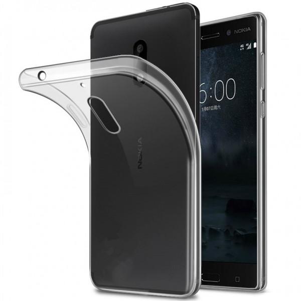 Husa Ultra Slim 0.3mm Upzz Nokia 5 Transparent imagine itelmobile.ro 2021