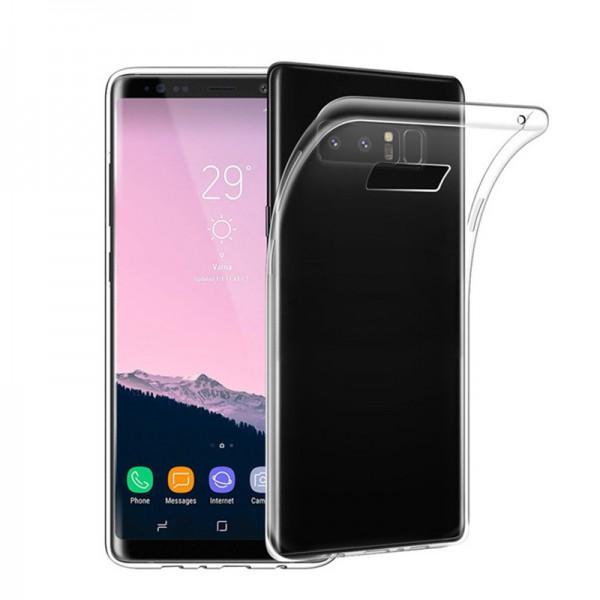 Husa Ultra Slim 0.3mm Upzz Samsung Note 8 Fumuriu imagine itelmobile.ro 2021