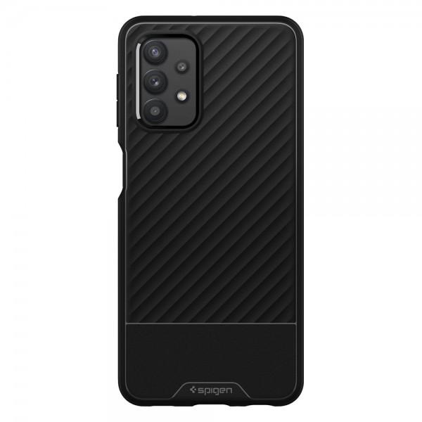 Husa Premium Spigen Core Armor Pentru Samsung Galaxy A32, Silicon, Negru imagine itelmobile.ro 2021