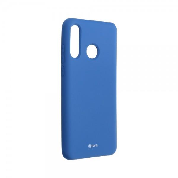 Husa Spate Silicon Roar Jelly Compatibila Cu Huawei P30 Lite, Navy Albastru imagine itelmobile.ro 2021