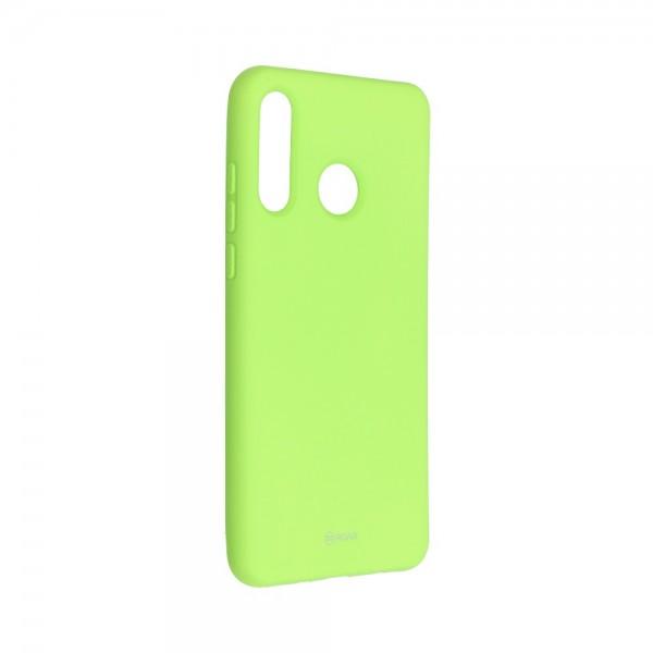 Husa Spate Silicon Roar Jelly Compatibila Cu Huawei P30 Lite, Verde Lime imagine itelmobile.ro 2021