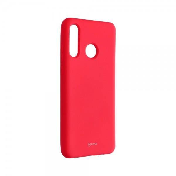 Husa Spate Silicon Roar Jelly Compatibila Cu Huawei P30 Lite, Roz imagine itelmobile.ro 2021