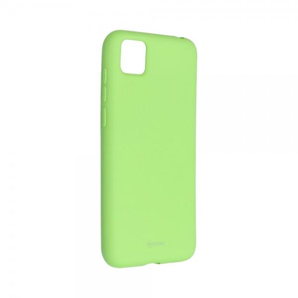Husa Spate Silicon Roar Jelly Compatibila Cu Huawei Y5p, Verde Lime imagine itelmobile.ro 2021